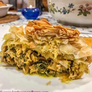 B'still moroccan chicken pie