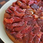 Let them eat cake – Upside-down Plum Cake!