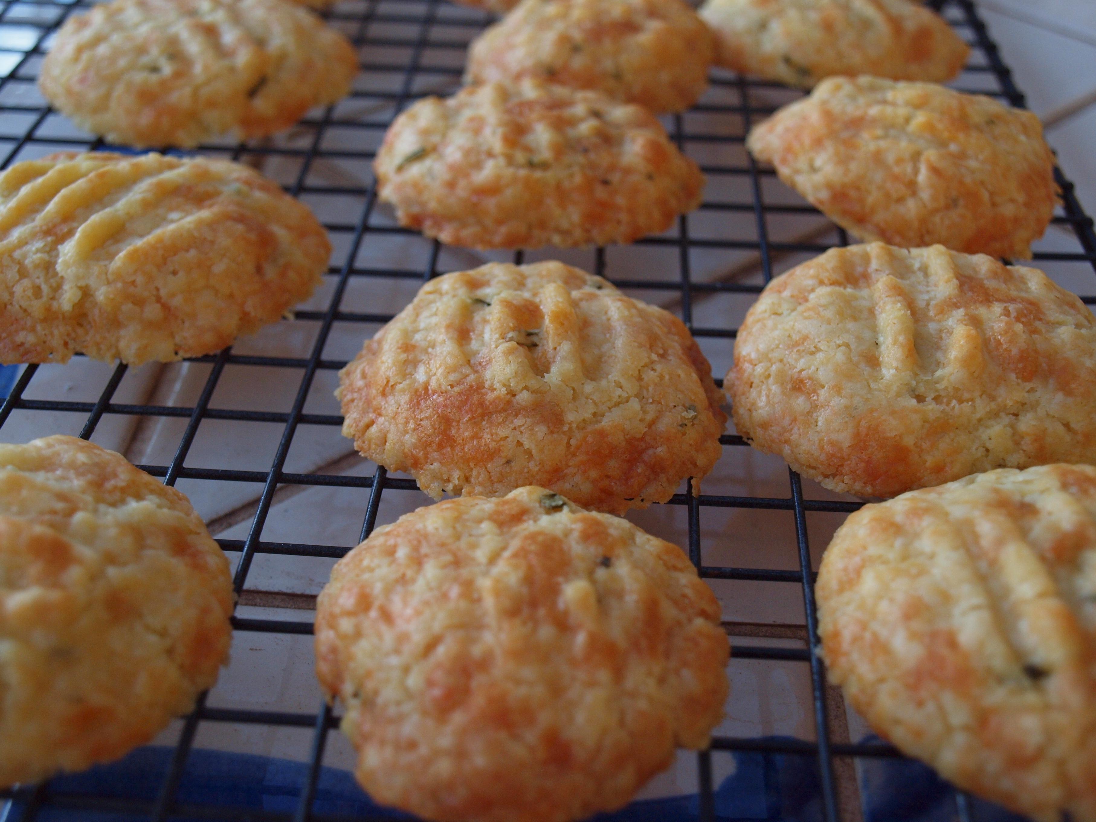 Rosemary Cheese Bites