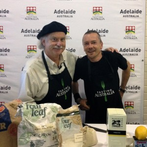 Ian Parmenter and Simon Bryant at Tasting Australia  2012 launch