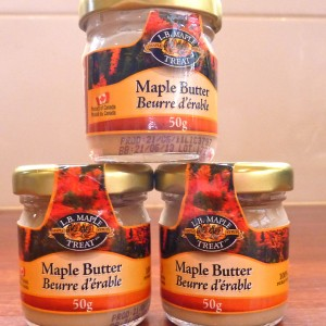 Canadian Maple Butter
