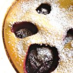 My Perfect Plum Clafoutis
