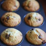 For Barbara Harris – Lemon, Pear and Choc Chip Muffins