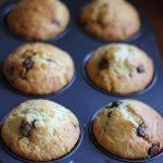 For Barbara Harris – Lemon, Pear and Choc Chip Muffins