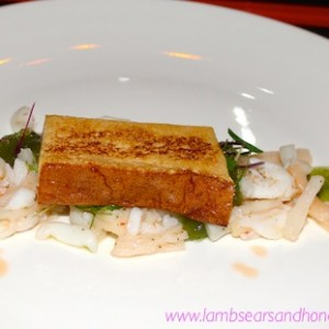 Malamay pan fried shrimp cake
