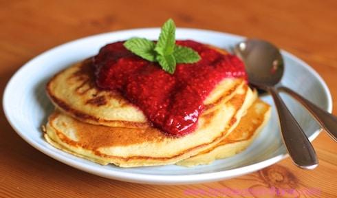 KitchenAid Vanilla Ricotta Hotcakes