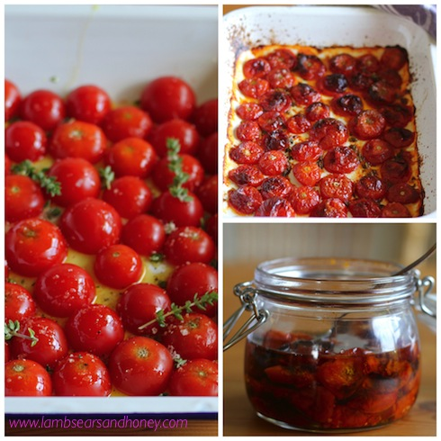 Cherry Tomato Confit - Lambs' Ears and Honey | A Food & Travel Blog