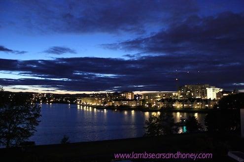 Sunset, Victoria, Vancouver Island