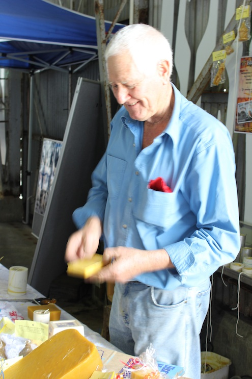 Kangaroo Island bee keeper Peter Davis