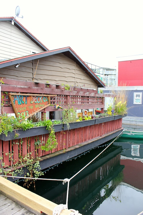 Houseboat, Victoria, Vancouver Island