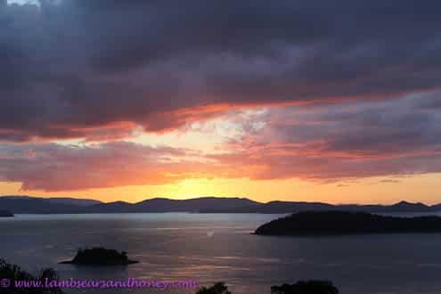 Hamilton Island fading sunset