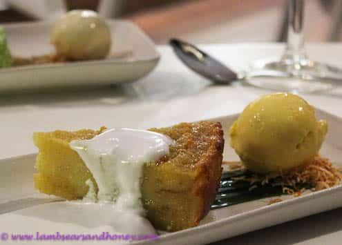 Dessert, Hamilton Island restaurant