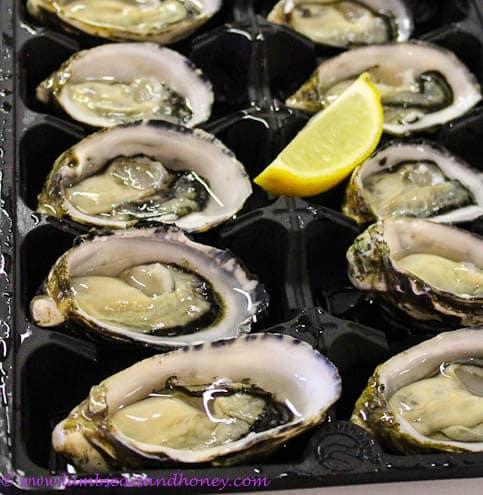 Kangaroo Island shellfish - oysters