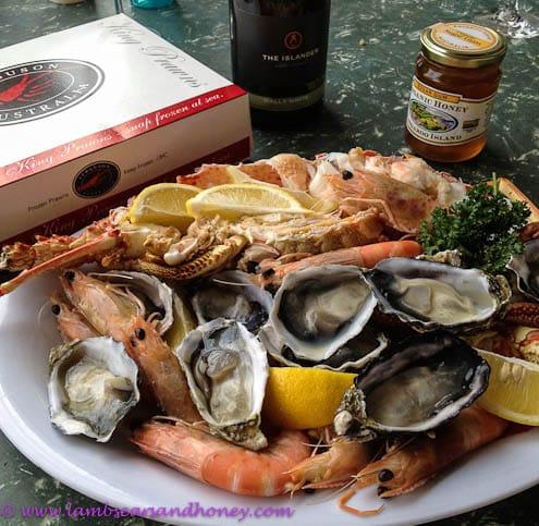 Ferguson's shellfish platter