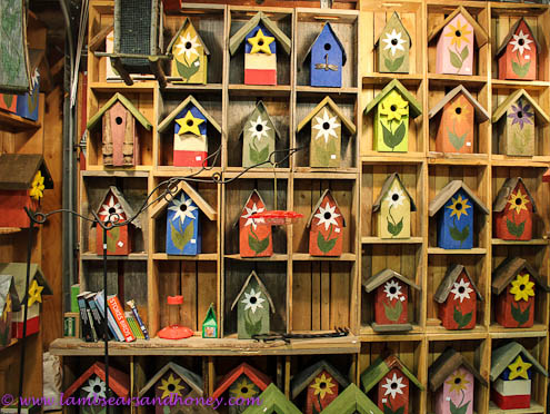 bird houses, Moncton Farmers Market