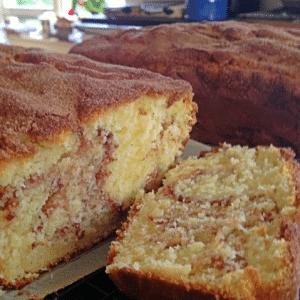 Fabulouslyy Fast Cinnamon Cake