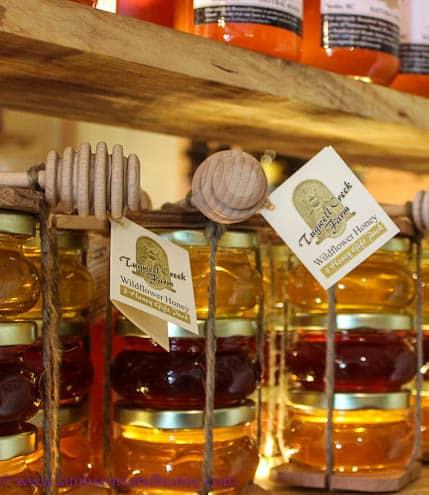 Tugwell Creek Farm honey, BC