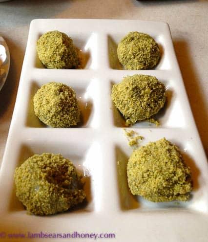 Tea Chapter Matcha covered glutinous rice balls