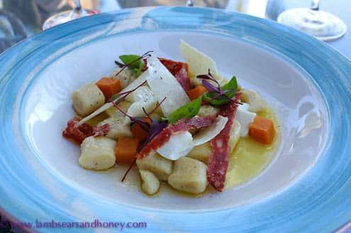 fresh gnocchi Paradise Bay Resort