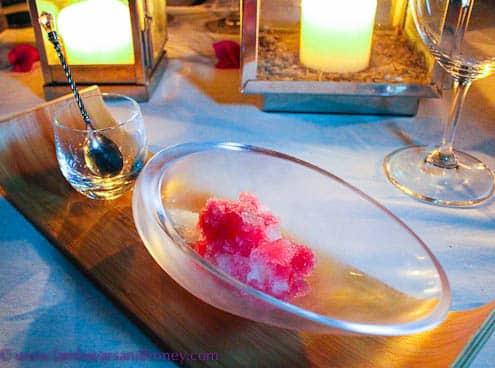 Palate refreshing sorbet, Paradise Bay Resort