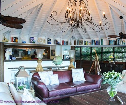 A comfy nook at Paradise Bay Resort