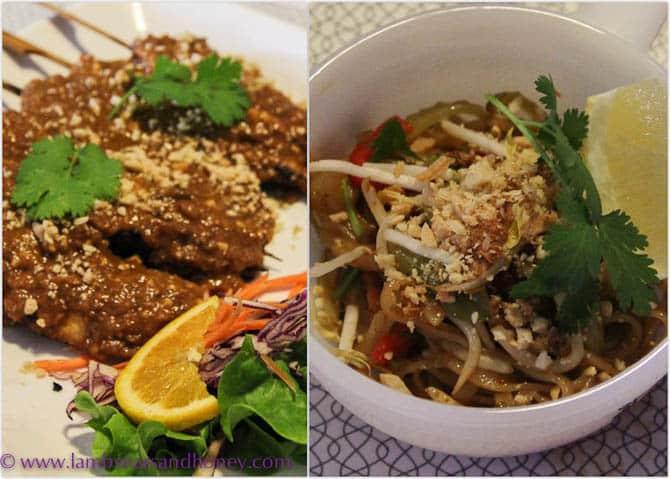Ampika's satays & vegan Pad Thai