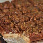 buttery Maple Caramel Pecan Shortbread