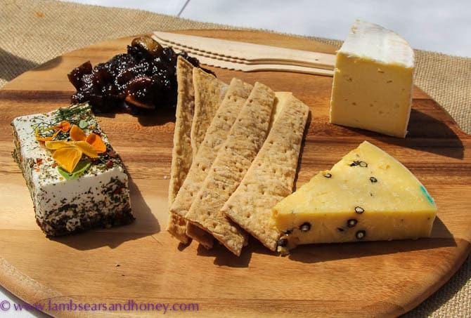 Degustation Lunch Premiers Selection Cheese Platter, Premium Pavillion