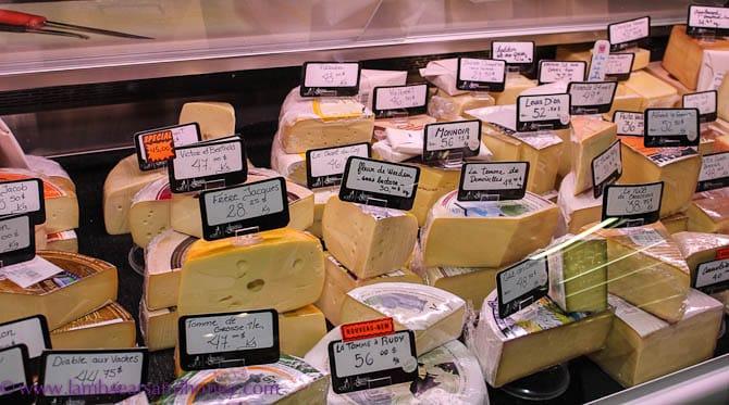 Cheese, Jean Talon Market, Montreal