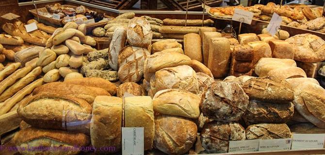 loaves, Jean Talon Market, MOntreal