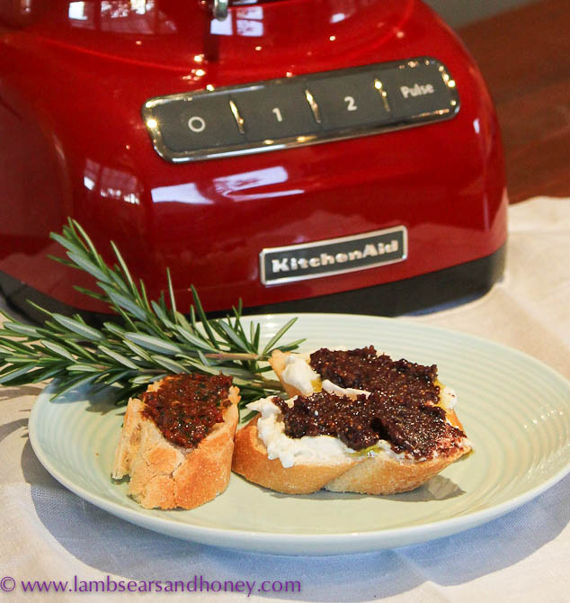 Fig & Olive Tapenade & Tomato Tapenade