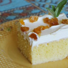 Tres Leches Cake - even better a day later.