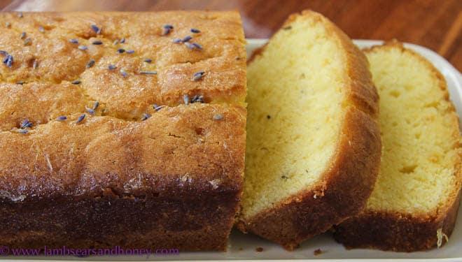 Lavender Honey Cake Recipe