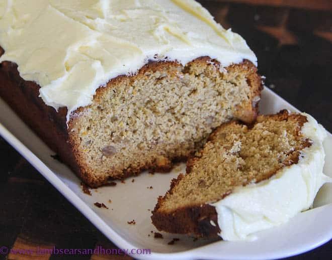 Orange, Honey & Walnut Spice Cake - A-Cake-a-Week - Lambs' Ears and ...