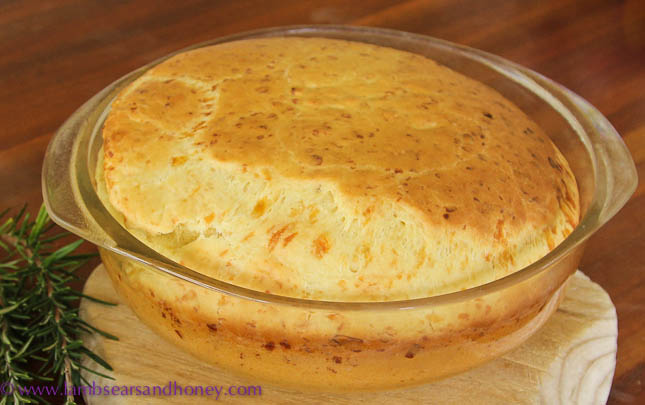 cheesy batter bread