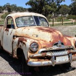 Wish You Were Here Postcards – An Old Ute in Clare Valley, South Australia