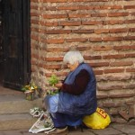 Wish You Were Here Postcards – Flower Seller, Sofia, Bulgaria