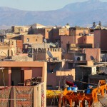 Wish You Were Here Postcards – Marrakech skyline