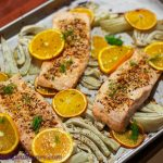 Fennel, Orange & Salmon Bake