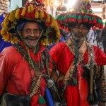 Wish You Were Here Postcards – Berber Blokes in Marrakech, Morocco