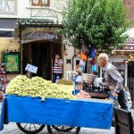 Wish You Were Here Postcards – Fruit Vendor on the Streets of Istanbul