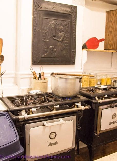 Chocolats Andrée original gass stoves, Montreal.