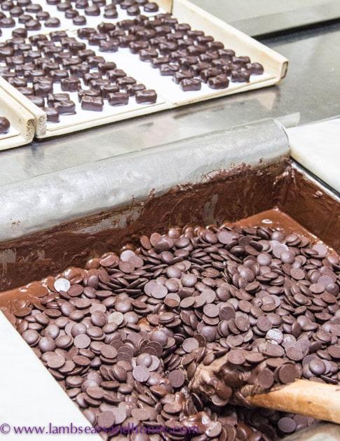 Chocolate, Chocolats Andrée, Montreal.