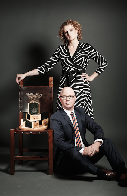 Udder Delights cheese makers Saul & Sheree Sullivan
