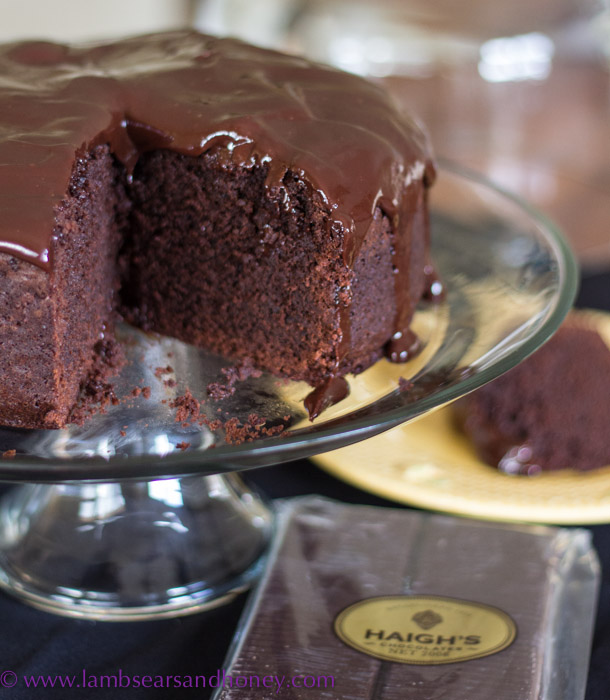 Haighs Chocolate Mud Cake