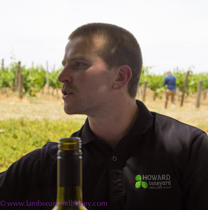 Howard Vineyard winemaker, Tom Northcott