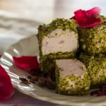 Rosewater and Pistachio Marshmallows