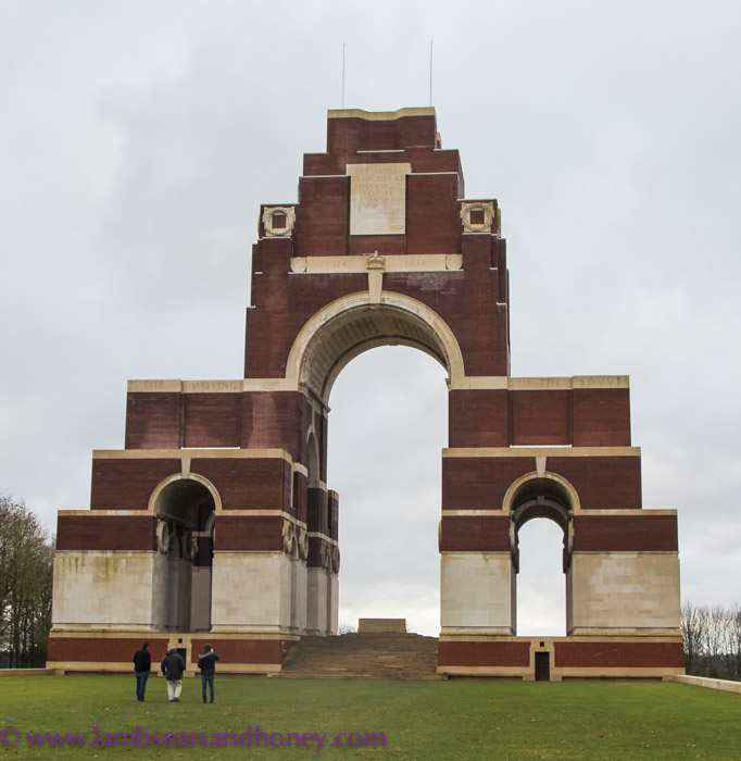 Thiepval Memorial to the Missing, the Somme.