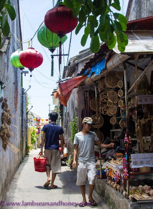 Shopping, Hoi An, Vietnam.