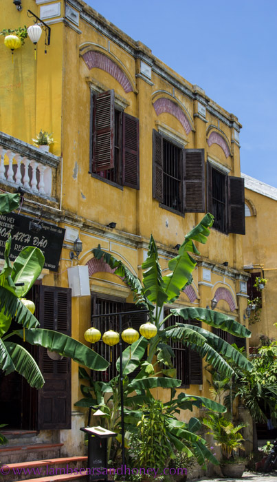 Charming old building, Hoi An, Vietnam.